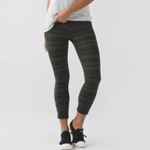 Lululemon Give Me Qi Crop Leggings
